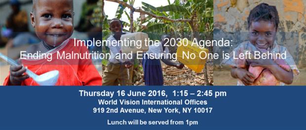 Implimenting Agenda 2030 Ending Malnutrition